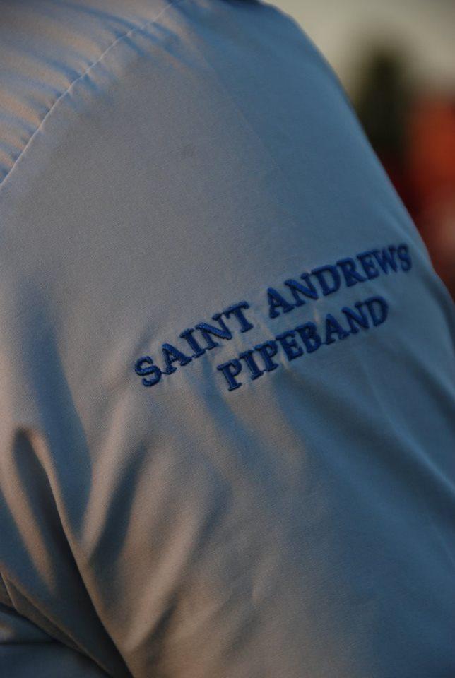 Logo op arm